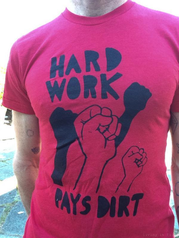 Hard Work Pays Dirt