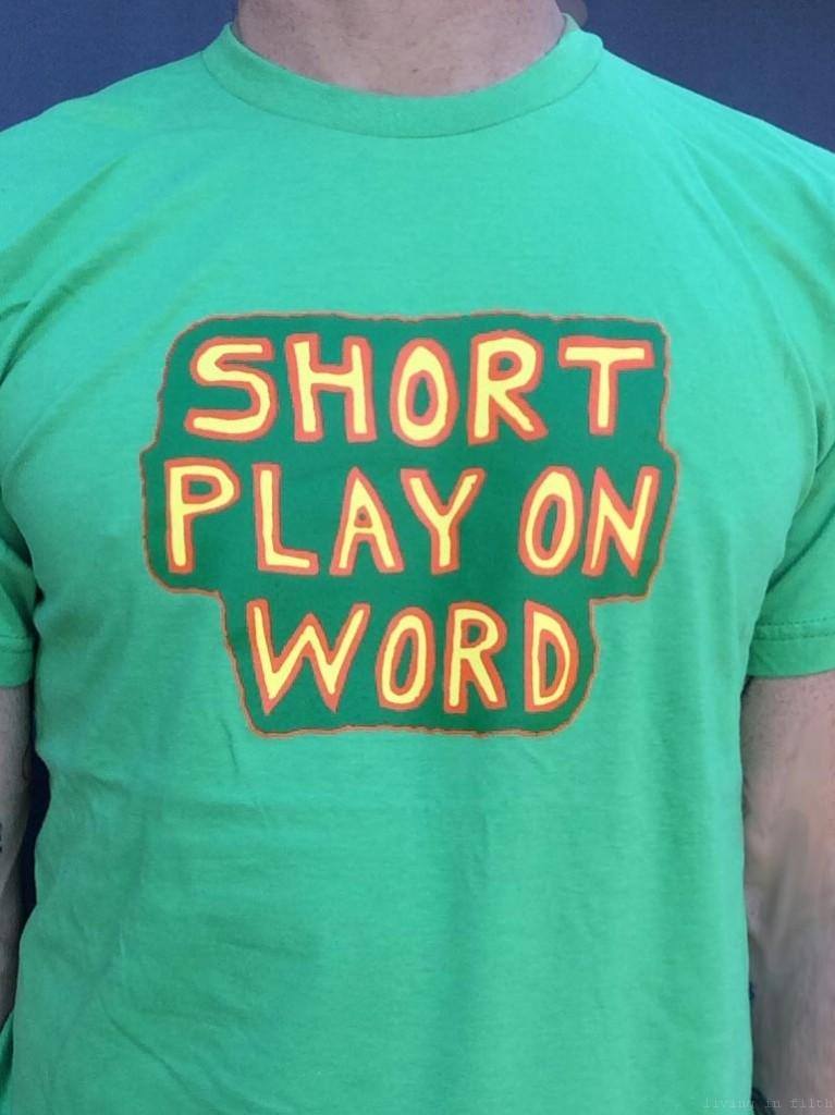 shortplay on word shirt